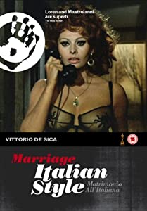 """Cover of """"Marriage Italian Style"""""""