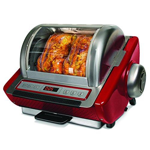 Ronco ST5250RDGEN Store Rotisserie Oven, Red