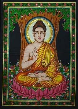 A buddha. Not the buddha, A buddha.