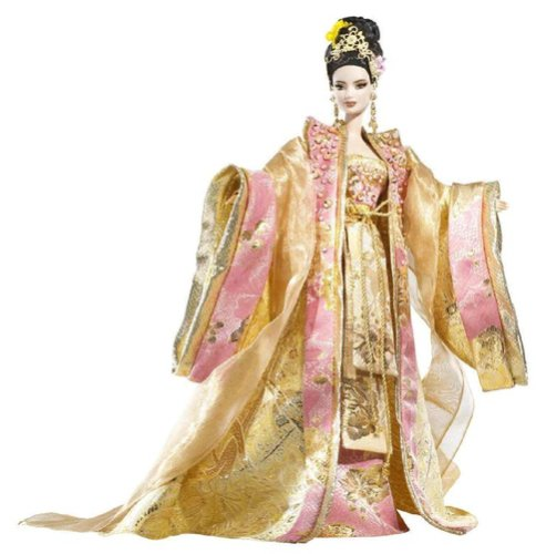 Empress of the Golden Blossom Barbie Doll Limited Edition 4700 or less!