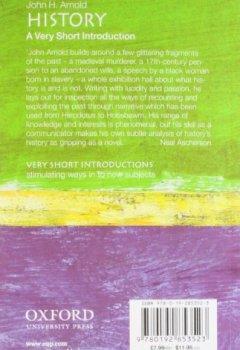 Livres Couvertures de History: A Very Short Introduction