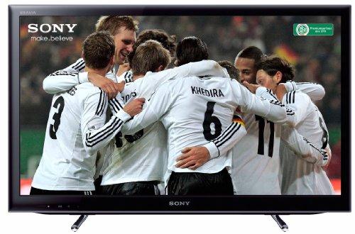 Sony KDL40EX655 102 cm (40 Zoll) LED-Backlight-Fernseher, Energieeffizienzklasse A (Full HD, Motionflow XR 100Hz, DVB-T/C/S2, Internet TV) schwarz
