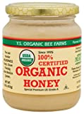 YS Organic Bee Farms - Organic Honey, 16 oz gel (Pack of 2)
