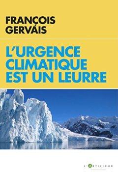 Livres Couvertures de L'urgence climatique est un leurre