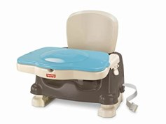Fisher-Price Deluxe Booster Seat, Brown/Tan