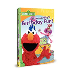 Elmo and Abby's birthday fun! cover