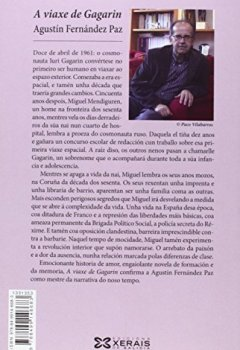 Portada del libro deA Viaxe De Gagarin (Edición Literaria - Narrativa)