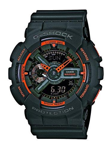 (video review) watch casio g-shock ga-110ts-1a4er men s multicolour,(VIDEO Review) Watch Casio G-shock Ga-110ts-1a4er Mens Multicolour,