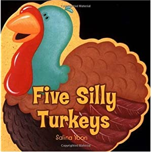 Thanksgiving 5 Silly Turkeys