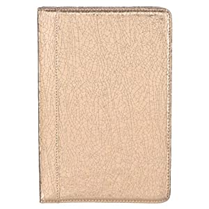 "M-Edge GO! Kindle Jacket, Crackled Gold (Fits 6"" Display, Latest Generation Kindle)"