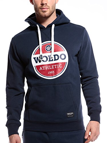 WOLDO Athletic Herren Kapuzenpullover Hoodie Pullover mit Kapuze Kapuzenpulli Sweatshirt Fitness Sport Gym Slim Fit