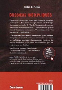 Livres Couvertures de Dossiers inexpliqués : Affaires authentiques, Surnaturel, Etrange, Insolite