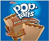 Kellogg's Pop Tarts Frosted Brown Sugar Cinnamon - 36 Pack