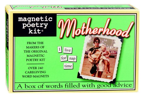 Magnetic Poetry Motherhood Magnetic Poetry