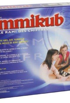 Book's Cover ofHasbro - 132011012 - Rummikub Chiffres - Jeu de Société