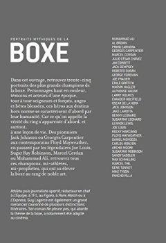 Livres Couvertures de Portraits mythiques de la boxe