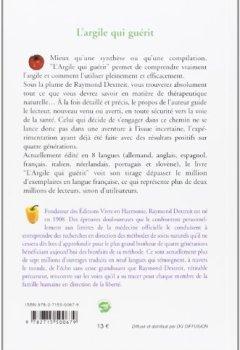 Livres Couvertures de L'Argile qui guérit : Mémento de médecine naturelle