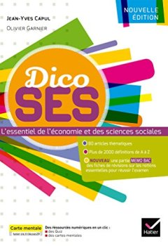Livres Couvertures de Dictionnaire d'économie et de sciences sociales