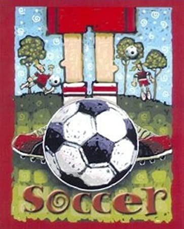 Soccer Feet Fleece Throw Blanket