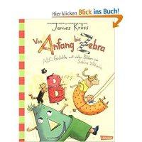 Von Anfang bis Zebra : ABC-Gedichte / James Krüss. Mit vielen Bildern von Sabine Wilharm