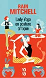 Lady yoga en posture critique