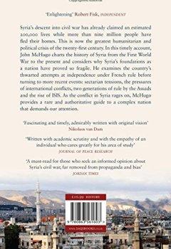Livres Couvertures de Syria: A Recent History