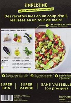 Livres Couvertures de Simplissime: Le livre de cuisine le + facile du monde