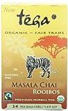 Tega Organic Rooibos Tea, Masala Chai, 24-Count