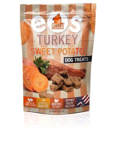 Plato Pet Turkey Sweet Potato Dog Treats