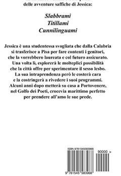 Copertina del libro di Trilogia Passioni Lesbiche: Slabbrami - Titillami - Cunnilinguami