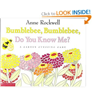Bumblebee, Bumblebee, Do You Know Me? A Garden Guessing Game