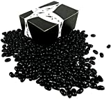 Gourmet Black Licorice Jelly Beans by Cuckoo Luckoo Confections, 2 lb Bag in a BlackTie Box