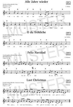 Weihnachtslieder Klavier Pdf.Herunterladen Merry Christmas Für Keyboard Notenbuch Die 45