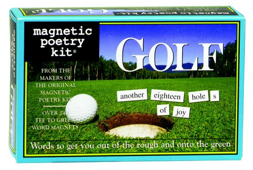 Magnetic Poetry Golf Magnetic Poetry Kit