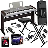 Yamaha DGX-640W Digital Piano STAGE BUNDLE w/ Keyboard Stand & Case