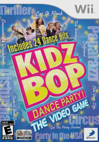 Kidz Bop Dance Party - Nintendo Wii