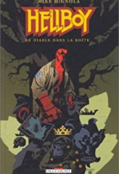 Livres Couvertures de Hellboy, Tome 5 : Le Diable Dans La Boîte