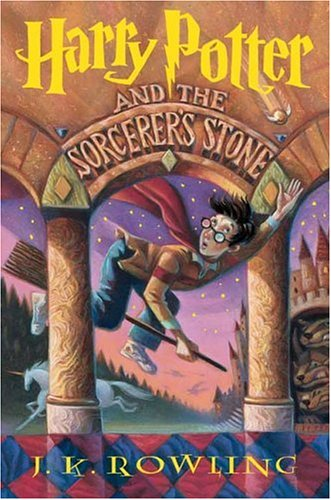 "Cover of ""Harry Potter and the Sorcerer's..."