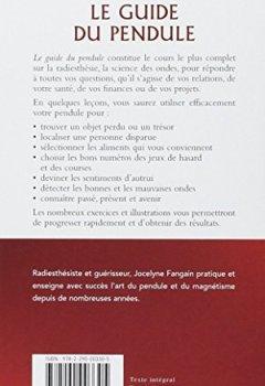 Livres Couvertures de Le guide du pendule