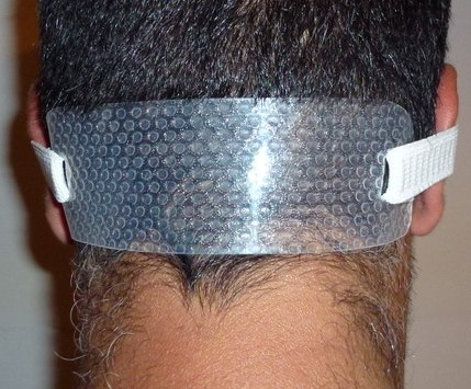 Quality Time Neck Hair Guide A Template For Shaving And