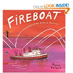 Fireboat: The Heroic Adventures of the John J. Harvey (Picture Puffin Books)