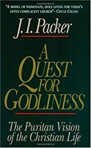 """Cover of """"A Quest for Godliness: The Puri..."""