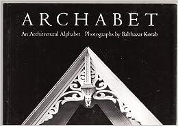 Archabet: An Architectural Alphabet Postcard Book