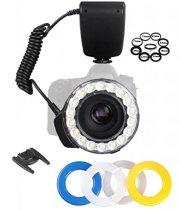 Ultra-Bright-18-LED-Ring-Flash-Light-For-Nikon-D3100-D3200-D3300-D5100-D5200-D5300-D5500-D7000-D7200-D90-D300-D300S-D600-D610-D700-D750-D800-D810-Digital-SLR-Camera