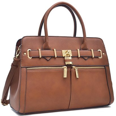 Marco-Fashion-Handbag-6750Packlock-Handbag-for-Women-Signature-fashion-Designer-Purse-Perfect-Beautiful-Designer-Purse-Women-Satchel-Purse-By-MMK-Collection-FN-03-6750-BR