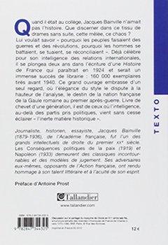 Telecharger Histoire de France de Jacques Bainville