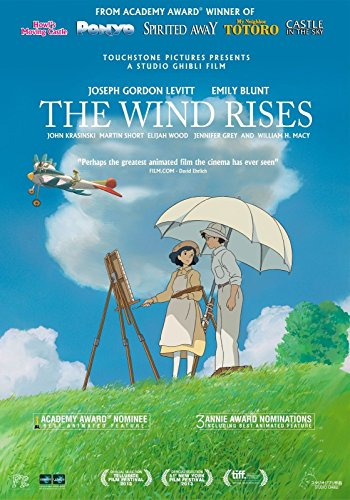 Image result for the wind rises movie poster