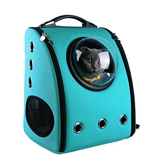U-petペットキャリーバッグ 犬 猫用 宇宙カプセル 両側に通気孔付き お出かけに 旅行散歩にも