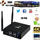 2G 16G Amlogic S905 64bit Quad Core YuRen K3 4K Android 5.1 TV Box KODI 16.0 fullly loaded Streaming Media Player 2G&5GWiFI/Gigabit Ethernet Miracast DLNA Airplay 3D 4K Movies