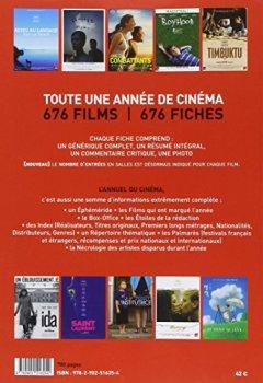 Livres Couvertures de L Annuel du Cinema 2015 Tous les Films 2014